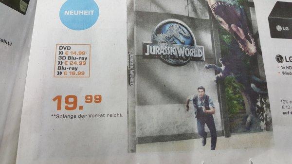 Saturn Essen Jurassic World Steelbook