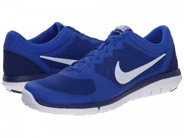 Nike Flex 2015 Run Herrenschuhe Sportschuhe blau/weiss & schwarz/gelb verschiedene Größen @INNOVA