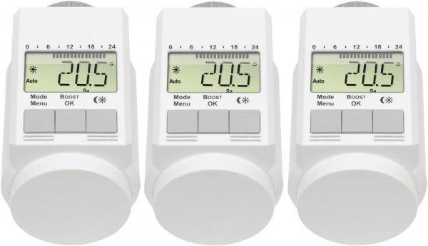[Digitalo] EQ-3 Heizkörperthermostat-Set 5 °C bis 29.5 °C L-Regler