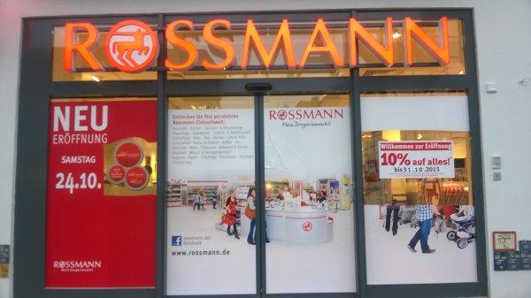 lokal: Rossmann Neueröffnung nach Umzug in Bückeburg - 10% auf fast alles