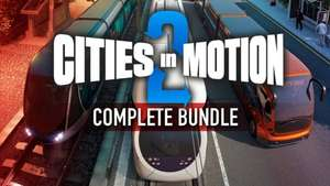 [STEAM] Cities in Motion 2 Complete Bundle mit 12 DLCs ! von Bundle Stars
