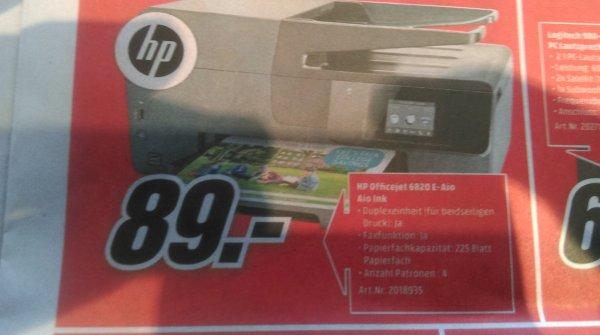 (Media Markt)HP Officejet 6820 E Aio (eventuell nur lokal)