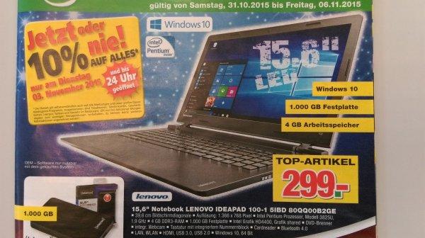 [Handelshof] Notebook Lenovo Ideapad 100-15IBD