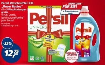 [Real] Persil Waschmittel XXL 12,75 € (-32%)