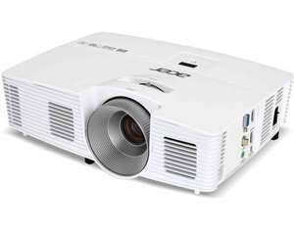 [AYN] Acer Beamer H6520BD, DLP-Projektor, 250 W, 3500 ANSI Lichthelligkeit, DLP Technologie, Full HD, Acer ColorBoost, Weiss - schnell sein ! -