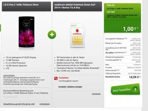 Vodafone Mobilcom SMART Surf mit LG G Flex 2 (modeo)