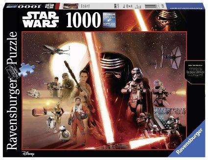 Ravensburger 19549 - Star Wars Episode VII, 1000-Teilig Puzzle @ Amazon Prime