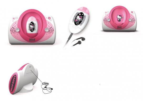 [Amazon.de-Prime] Smoby Hello Kitty MP3-Player und Dockingstation