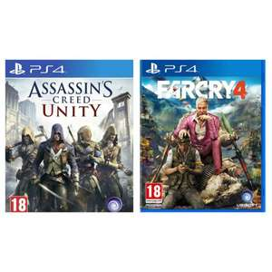 [HDGAMESHOP.at] Assassins Creed Unity Uncut Edition oder FarCry 4 Uncut Edition für PlayStation 4 für je 21,49€