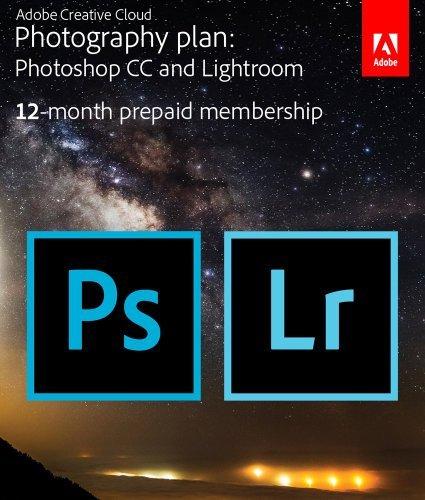 1 Jahreslizenz Photoshop CC + Lightroom Bundle
