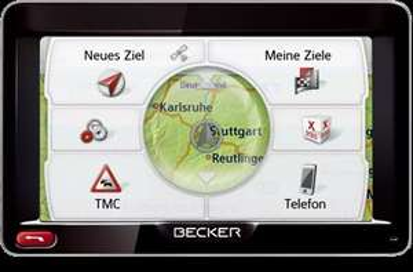 Becker Professional 50 LMU Navigationsgerät mit Lebenslangen Kartenupdates  @null 139,95€