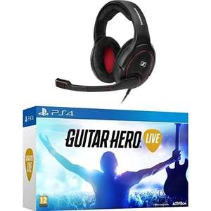 [Amazon.fr] Sennheiser GAME ONE + Guitar Hero Live - [Play­Sta­ti­on 4] für 166.77€ inkl. Versand