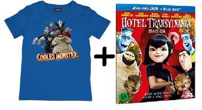 Hotel Transsilvanien (mit Storybook) - (DVD) + T-Shirt oder (Blu-ray) (Steelbook Version) + T-Shirt 12,99 € @Saturn.de