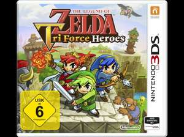 Zelda Tri Force Heroes 3DS
