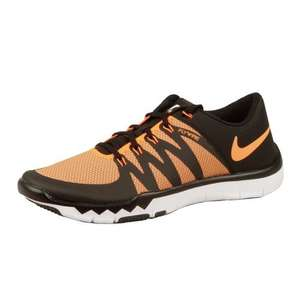 Nike Free Trainer 5,0 V6 Herren (Größen 41-47) - total orange/tumbled grey/volt für 69,90€ bei jogging-point.de