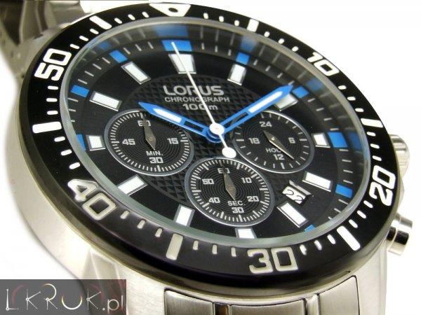 LORUS  ( SEIKO Brand ) Armbanduhr mit Metallband  SPORT Chronograph