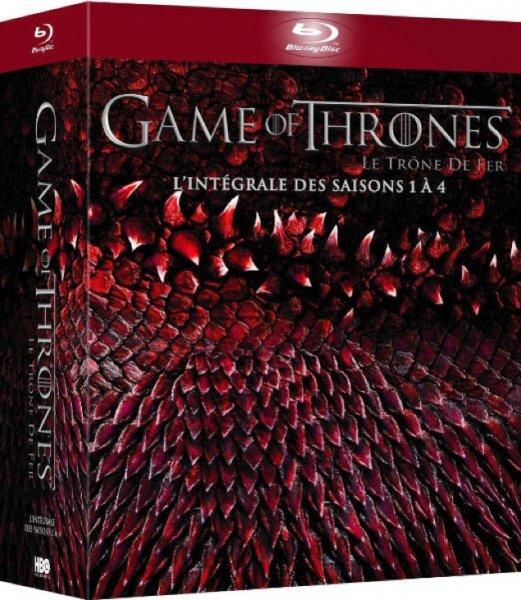 Game of Thrones Season 1-4  (Original Ton) Blu-Rays für 40€