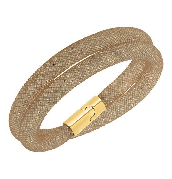 Swarovski Stardust Wickelarmband Gold 54€ [KAUFHOF]