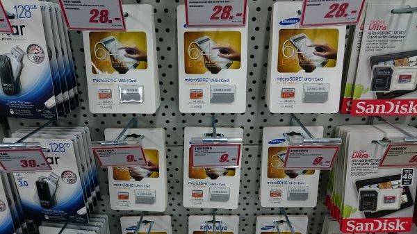 MediaMarkt Stuttgart City Samsung microSDHC UHS-I Class10 card 32GB