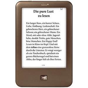 tolino shine eBook-Reader um € 51 bei Weltbild.at via D-A-Packs