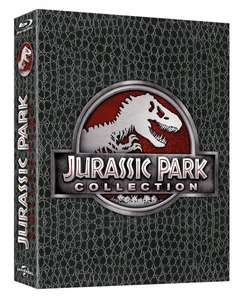 *UPDATE* [Amazon.de-Prime] Jurassic Park Collection - Dino-Skin Limited Edition (Blu-ray)