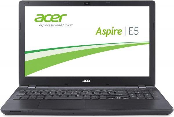 Acer Aspire E5-571G-507L 39,6 cm (15,6 Zoll HD Matt) Notebook (Intel Core i5-5200U, 2,7GHz, 8GB RAM, 500GB HDD, Nvidia GeForce 840M, DVD, Win 8.1) schwarz
