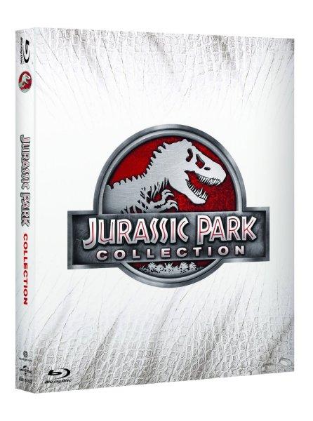 [Amazon.de] Jurassic Park - Collection 1-4  (Blu-ray) [IT Import] - deutsche Sprache inklusive