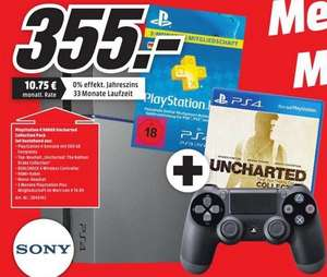[LOKAL - Mediamarkt Lippstadt] PlayStation 4 Uncharted Collection Pack für 355 Euro