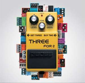 An alle Musiker! BOSS Effektpedals 3 for 2 Aktion!