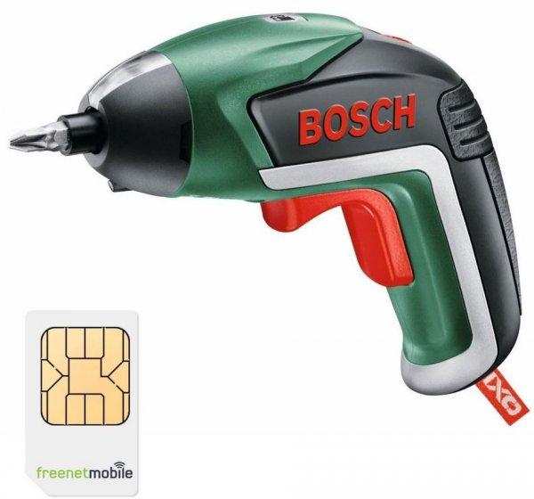 [WIEDER DA] freenetMobile DUO SIM-Karten mit Bosch IXO V Akku-Schrauber für 3,90€