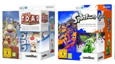 [Saturn] Splatoon inkl. Inkling Squid amiibo - Nintendo Wii U++++Captain Toad Treasure Tracker inkl. amiibo Figur - Nintendo Wii U ab 29,99 je Spiel.Versandkostenfrei