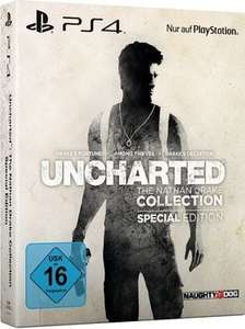 [Saturn] Uncharted - The Nathan Drake Collection (Special Edition) - PlayStation 4 ab 54,99€ Versandkostenfrei