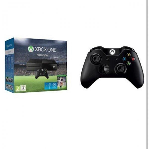 Xbox one + FIFA 16 + 2 Controller in Amazon für 355,30€ @Amazon.fr