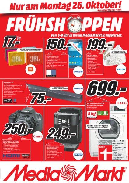 [lokal] Media Markt Ingolstadt Canon EOS 1200D Kit 18-55 mm DC III für 250 € am 26.10.2015