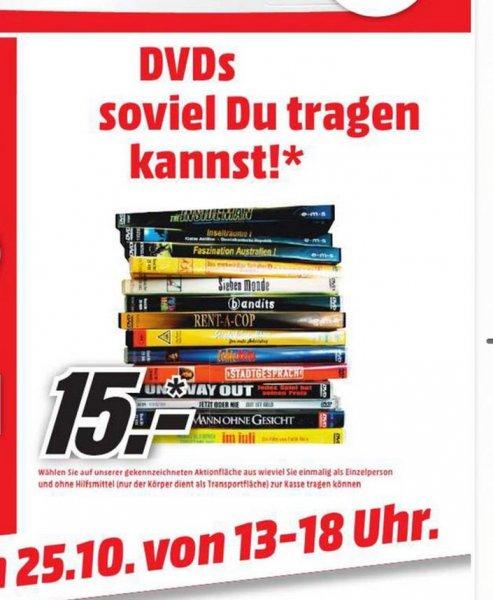 Mediamarkt Schweinfurt dvds soviel ihr tragen könnt am 25.10.15