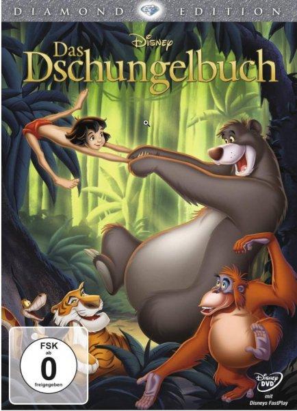 Das Dschungelbuch (Diamond Edition) (DVD)  bei Müller-Online