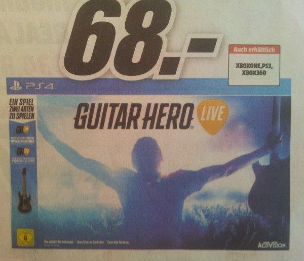 [MediaMarkt][Siegen] Guitar Hero Live (PS4) für 68,- Euro (eventuell deutschlandweit?)