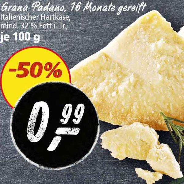 Alles Käse, Grana Padano, zum halben Preis von nur 0,99€/100g KW 44 [Real]