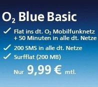 Mobilcom-Debitel o2 Blue Basic - rechnerisch 2,07€/Monat [Update!] 4,99€ : (