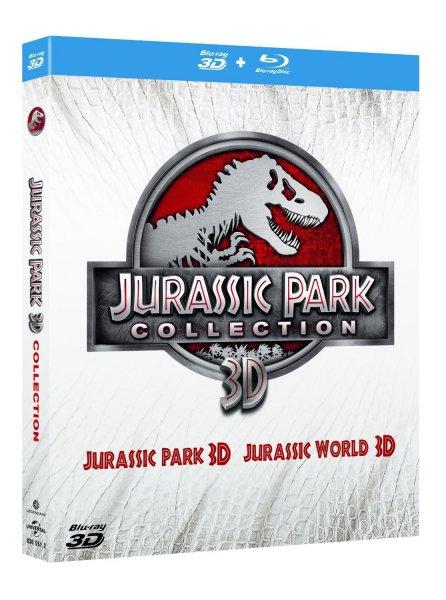 Jurassic Park (Collection 3D) [Blu-Ray] mit Jurassic Park 3D u. Jurassic World 3D inkl.Vsk für