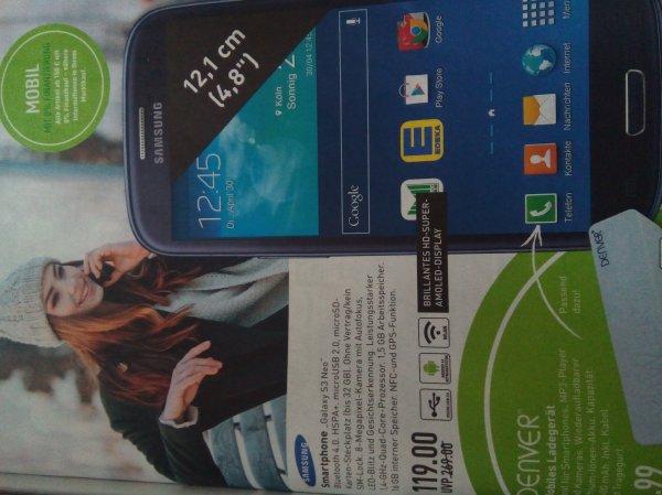 [Marktkauf Sundern] Update 2: 119€ Druckfehler, aber dennoch möglich - 159€ neuer Preis - Samsung Galaxy S3 Neo