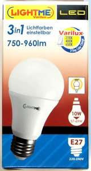 """ELV: LightMe-""""Varilux 3-in1""""- LED -Lampe mit 3 Farbtemperaturen für 16 € + Versand"""