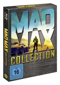 (amazon.de) Mad Max Collection (Limited Art Card Edition) auf Blu-ray für 34.97€