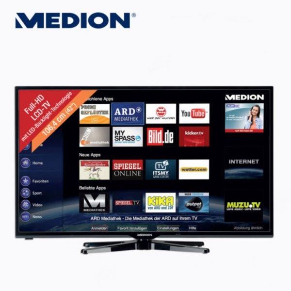 """[Aldi Nord] 42"""" LED-TV Medion Life P17098 (MD 30889) für 359,- ab dem 29. Oktober"""