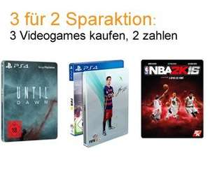 Amazon GAmes 3 für 2 (PS4, XBox One, PC)!