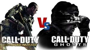 COD: Ghosts (Steam) für 6,15 EUR und COD: Advanced Warfare (Steam) für 13,96 EUR beides in deutsch