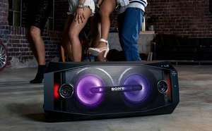 [Metro] Sony GTK-X1BT Party HiFi System mit Apple iPhone Docking (230 Watt, Bluetooth, NFC, USB) schwarz