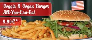 Veggie & Vegan Burger-All You Can Eat bei Miss Pepper American Restaurants für 9,99€ am 26. & 27.10.2015