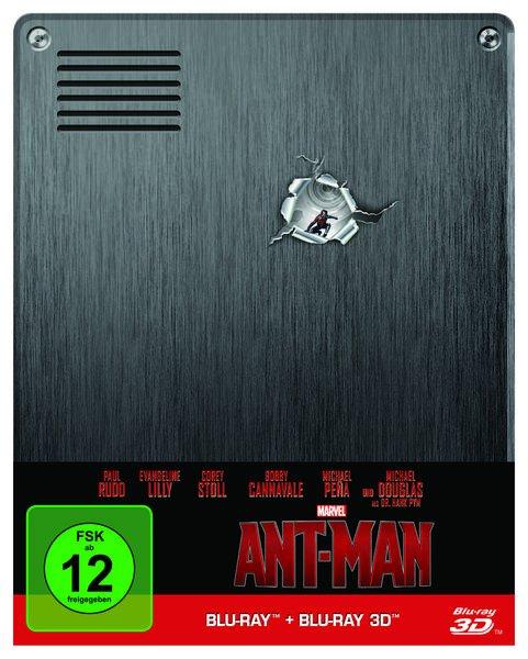 Blu-ray Ant-Man 3D + 2D Blu-ray Steelbook @ Buch.de
