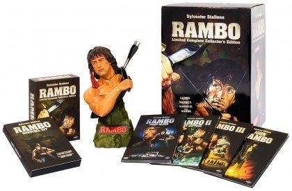 Rambo - Limited Complete Collectors Edition (8 DVD) limitiert auf 5000 Stück für 52,98 € @Media-Dealer *ausverkauft*
